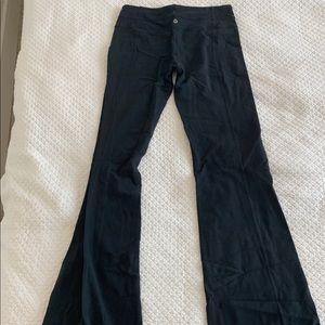Black OG lululemon flare pants